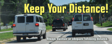 Keep Your Distance Banner