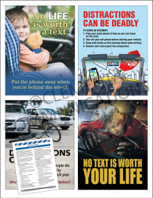 Driving Safety Focus Pack 3: Distractions