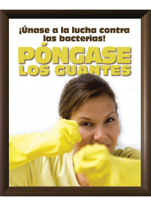 Safe Food Posters- Pongase Los Guantes