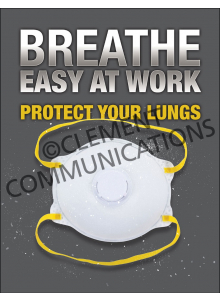 Respiratory Protection - Dust Mask Poster