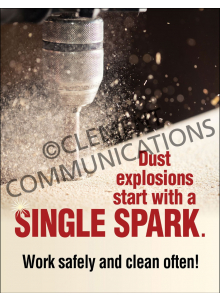 Combustible Dust – Spark – Poster
