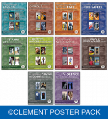 OSHA Hazards Poster Pack