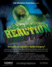 Safety Movie Poster: Adverse Reaction