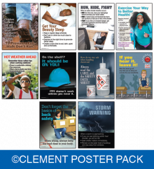 Safety and Health Poster Pack