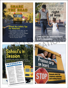 Driving Safety Focus Pack 5: School Safety