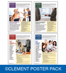 Sexual Harassment Awareness Poster Pack