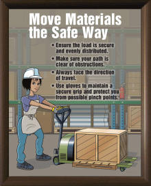 """Safe Procedures Postersare a virtual """"how to"""" guide giving your employees the step-by-step, easy-to-understand instruction they need to do their jobs safely."""