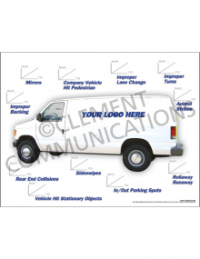 Accident Tracking Poster - Utility Van
