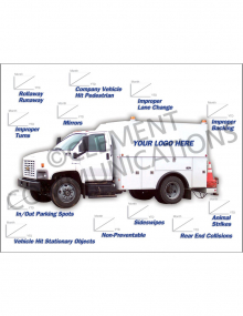 Accident Tracking Poster - Utility Truck