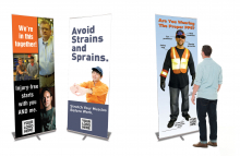Portable Retractable Banners