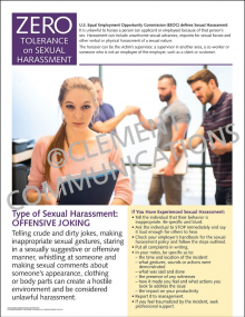 Sexual Harassment - Offensive Joking Poster