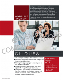 Workplace Incivility - Cliques Poster