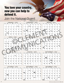 You Love Your Country 2021 Calendar Poster