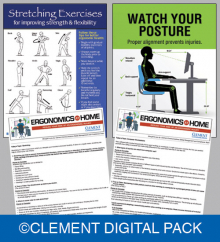 ERGONOMICS AT HOME DIGITAL KIT