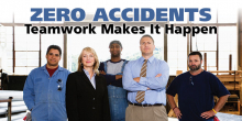 Zero Accidents: Teamwork Makes It Happen