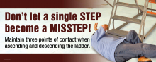 Don't Let a Single STEP Become a MISSTEP!