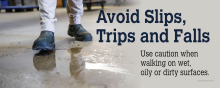 Reducing Slips, Trips, & Falls