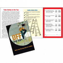 Safety Pocket Guide with Scratch-Off Quiz Card