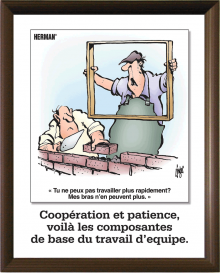 Herman® Posters in French