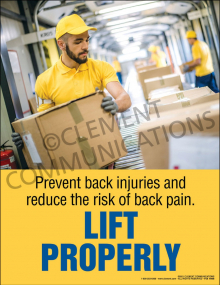 Lift Properly Poster