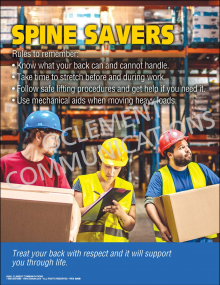 Spine Savers Poster