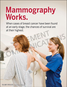 Mammography Works Poster