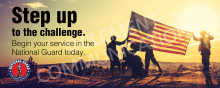 Step Up - Military Banner