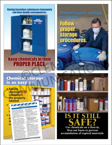 Chemical HazCom Focus Pack 5: Storage
