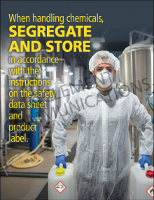 Segregate and Store Poster