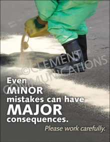 Even Minor Mistakes Poster