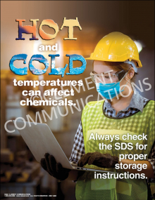 Chemical Safety - Climate Control Poster