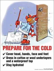 Prepare for the Cold Poster