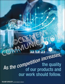 Competition Increases Poster