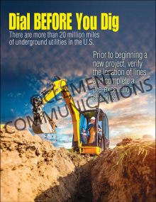 Dial Before You Dig Poster