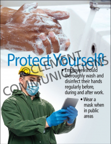 Protect Yourself-Mask Poster