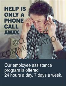 Help-Phone Call Away Poster
