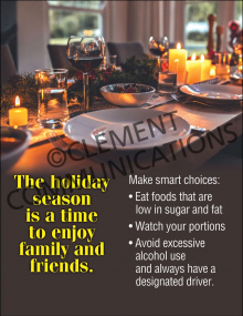 Holiday Family Friends Poster