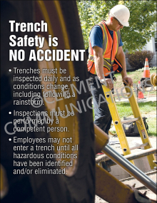 Trenching Safety Poster
