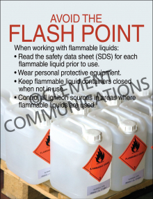 Avoid the Flash Point Poster