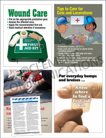 First Aid Focus Pack 4: Cuts, Bumps & Bruises