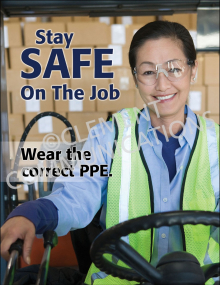 Wear Correct PPE Poster