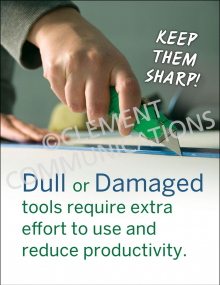 Dull Or Damaged Poster