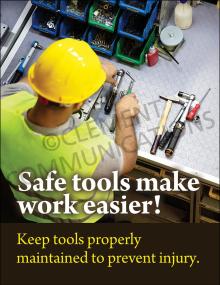 Safe Tools-Work Easier Poster