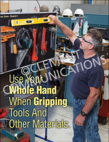 Gripping Tools Poster