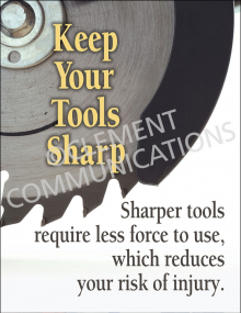 Sharper Tools-Poster