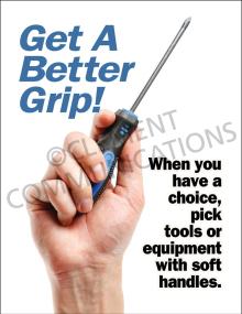 Get A Better Grip Poster