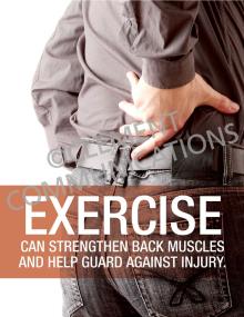 Ergonomics-Exercise Poster