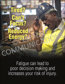 Tired? Can't Focus? Poster