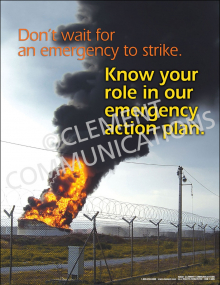 Emergency Response - Know Your Role Poster