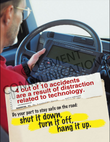 Four Out Of Ten Accidents Poster